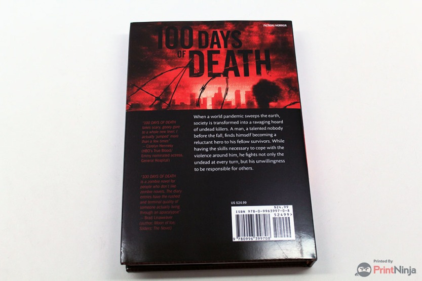 100 Days of Death Novel 04